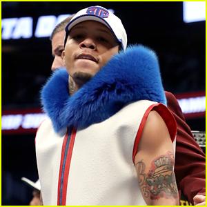 Boxer Gervonta Davis Arrives at Fight Wearing Blue Fur Hood, Twitter Goes Crazy!