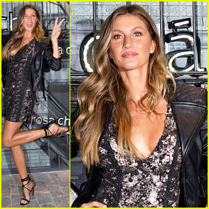 Gisele Bundchen Launches New Rosa Cha Collection in Brazil!