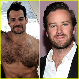 Henry Cavill Shares a Shirtless Photo & Armie Hammer Jokes Around with Him in the Comments!