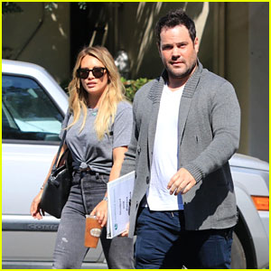 Hilary Duff Reunites with Ex Husband Mike Comrie for Lunch