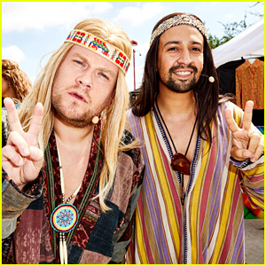 James Corden & Lin-Manuel Miranda Perform 'Hair' for Crosswalk the Musical!