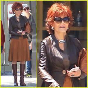 Jane Fonda Begins Filming 'Book Club' in Hollywood