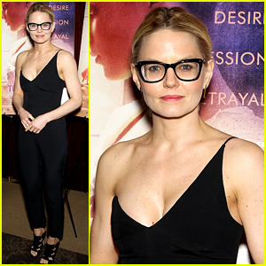 Jennifer Morrison Wears One-Shoulder Jumpsuit at 'Tulip Fever' NYC Screening