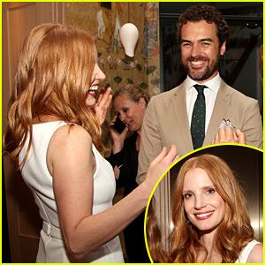 Jessica Chastain Flashes Wedding Ring at 'Detroit' Screening Alongside Her Husband!