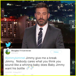 Jimmy Kimmel's Latest 'Mean Tweets' Are Directed at Him After Calling Donald Trump 'Unhinged'