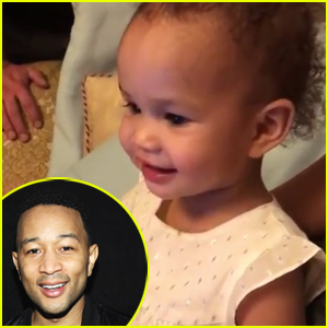 John Legend's Daughter Luna Can't Believe He Was on 'Sesame Street'! (VIDEO)