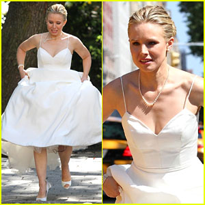 Kristen Bell Is a Runaway Bride for 'Like Father'!
