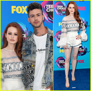 Madelaine Petsch & Boyfriend Travis Mills Couple Up at 2017 Teen Choice Awards