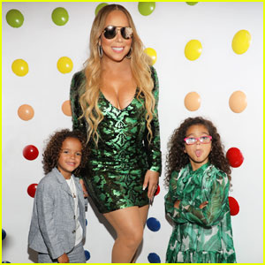 Mariah Carey, Bryan Tanaka, & Her Twins Celebrate At Miami Concert After Party!