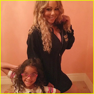 Mariah Carey's Daughter Monroe Joins Her Onstage For Duet - Watch Now!