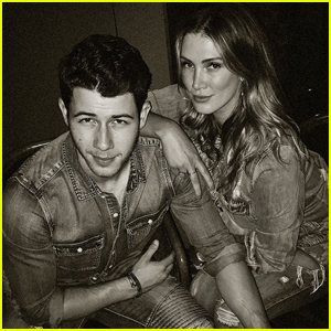 Nick Jonas Reunites With Ex Delta Goodrem in Matching Outfits!