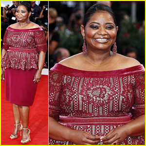 Oscar Winner Octavia Spencer Looks Gorgeous at Her Big Premiere in Venice!