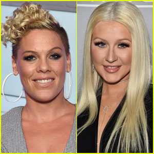 Pink Gives Update on Christina Aguilera Feud