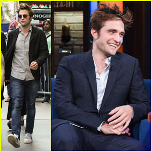Robert Pattinson Tells Stephen Colbert 'Good Time' Is '90-Minute Panic Attack'
