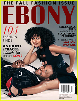 'Black-ish' Stars Tracee Ellis Ross & Anthony Anderson Cover 'Ebony' for Mag's Refresh!