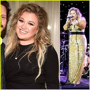 Kelly Clarkson Kicks Off 'Meaning of Life' Album Campaign in NYC!