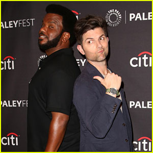 Adam Scott Goofs Around With 'Ghosted' Co-Star Craig Robinson at PaleyFest Fall TV Previews!