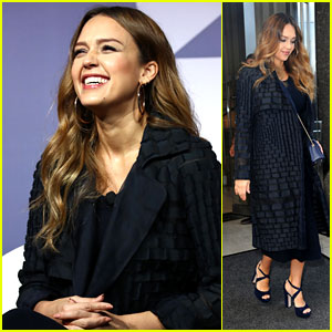 Jessica Alba Is Glowing at Advertising Week Event in NYC!