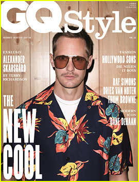 Alexander Skarsgard Dresses Like Terry Richardson for 'GQ Style Germany' Cover
