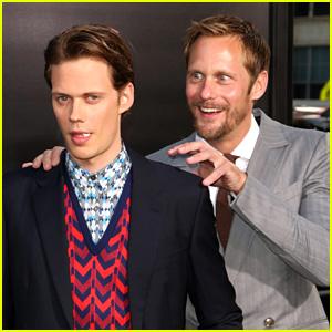 Alexander Skarsgard Tried Scaring Brother Bill at 'It' Premiere!