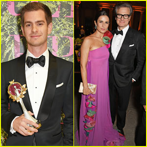 Andrew Garfield & Colin Firth Help Honor at Green Carpet Fashion Awards 2017!