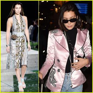 Bella Hadid Hits the Runway Ahead of Paris Fashion Week