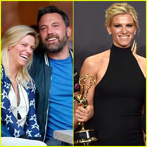 Ben Affleck Cheered on Girlfriend Lindsay Shookus at Emmys 2017!