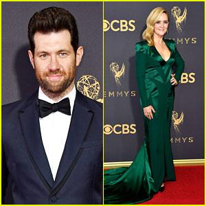 Billy Eichner & Samantha Bee Wow on the Emmys 2017 Red Carpet!