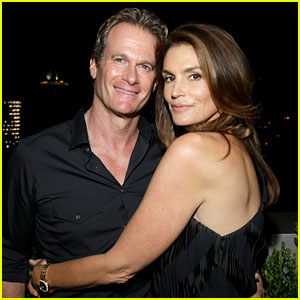Cindy Crawford & Rande Gerber Look Hot Together at DuJour Magazine Party!