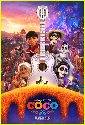 Disney/Pixar Releases Cute New 'Coco' Poster