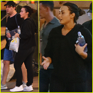 Demi Lovato Sweats It Out at SoulCycle Class!