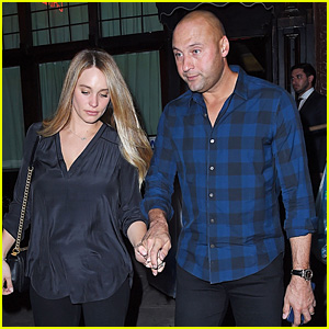 Derek & Hannah Jeter Hold Hands During NYC Date Night!