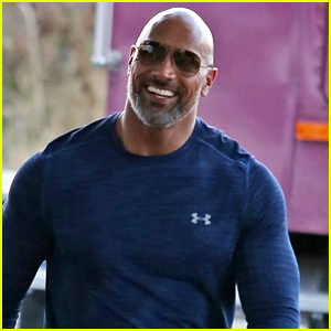 Dwayne Johnson Hangs With Fans While Filming in Canada!