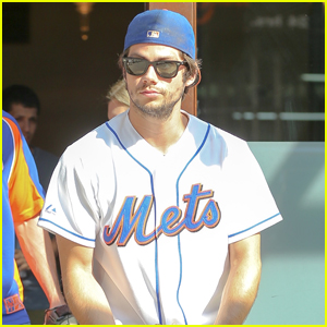 Dylan O'Brien Throws Out First Pitch at Mets Game Proving Dreams Do Come True