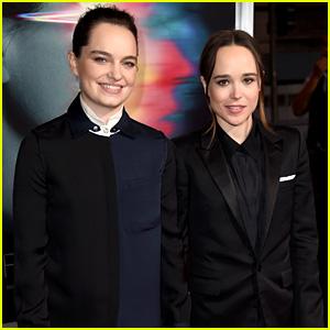 Ellen Page Gets Girlfriend Emma Portner's Support at 'Flatliners' Premiere