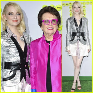 Emma Stone Goes Glam for 'Battle of the Sexes' Premiere!