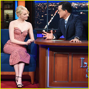 Emma Stone Talks Lifelong Struggle with Anxiety on 'The Late Show' - Watch Here!