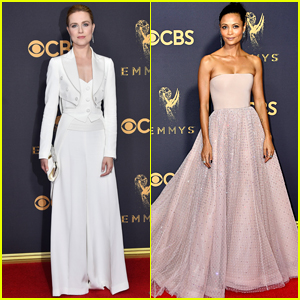 Evan Rachel Wood & Thandie Newton Go Glam for Emmys 2017