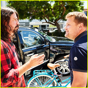 Foo Fighters Join James Corden for 'Carpool Karaoke' - Watch Now!