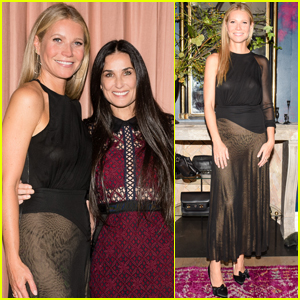 Gwyneth Paltrow Celebrates 'goop' Lab Opening With Demi Moore