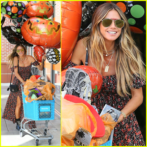 Heidi Klum Kicks Off Halloween Celebrations Early!
