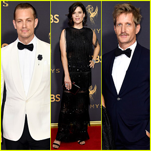 House of Cards' Joel Kinnaman, Neve Campbell, & Paul Sparks Team Up for Emmys 2017