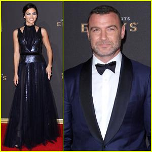 Jenna Dewan-Tatum & Liev Schreiber Step Out in Style for Creative Arts Emmys 2017