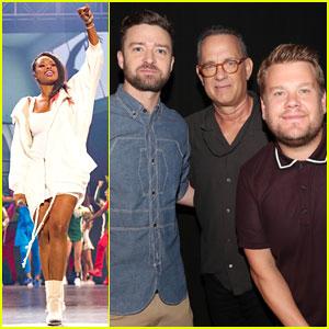 Jennifer Hudson & Justin Timberlake Lead Star-Studded Super School Live Event!