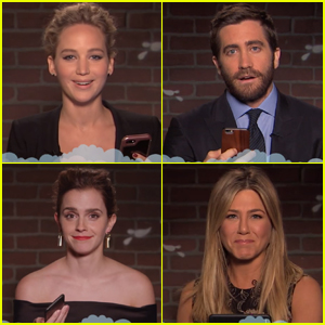 Jennifer Lawrence, Emma Watson, Jennifer Aniston & More Celebs Read Mean Tweets - Watch Now!