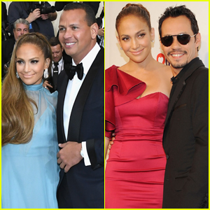 Jennifer Lopez's Boyfriend Alex Rodriguez & Ex Marc Anthony Both Support Her at Vegas Show