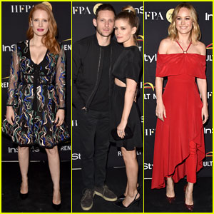 Jessica Chastain, Kate Mara & Brie Larson Go Glam for Toronto Celebration!