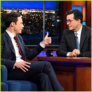 Jim Parsons Opens Up About His Marriage to Todd Spiewak on 'Late Show With Stephen Colbert'!
