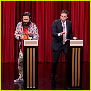 Jared Leto & Jimmy Fallon Play Name That Song Challenge - Watch Now!