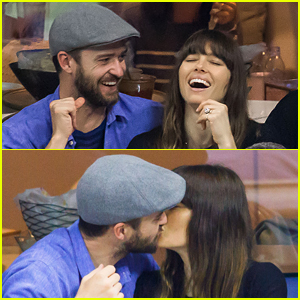 Justin Timberlake & Jessica Biel Enjoy Date Night at U.S. Open